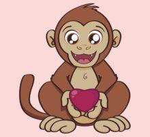 Monkey Love One Piece - Short Sleeve