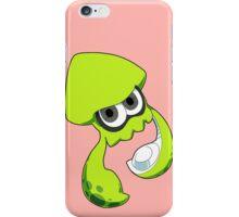 Splatoon - Lime Green Inkling Squid iPhone Case/Skin