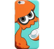 Splatoon - Orange Inkling Squid iPhone Case/Skin