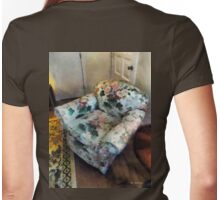 The Chair by the Corner Closet Womens Fitted T-Shirt
