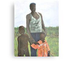 Uganda Family Metal Print