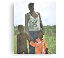 Uganda Family Canvas Print