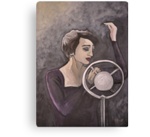 Edith Piaf Canvas Print