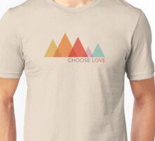 Choose Love - Mountains Unisex T-Shirt