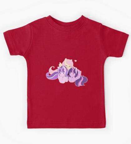 BFFS - My little pony (fluttershy, starlight glimmer & twilight sparkle) Kids Tee