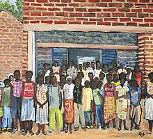 School Class Burkina Faso by rebfrost