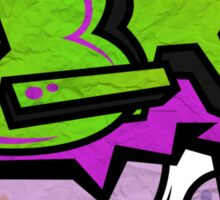 Lime Tag Sticker