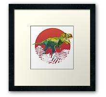 Party Tyrannosaurus Rex Framed Print