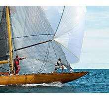 On the Foredeck Photographic Print
