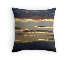 World Full of Silver Linings Throw Pillow