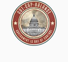 Cut Cap And Balance Unisex T-Shirt