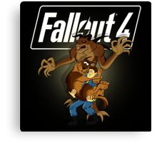 Fallout 4 (Scooby doo style) Canvas Print