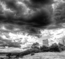 Storm Over The Castle by DavidHornchurch