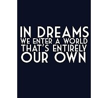 dreams albus dumbledore Photographic Print