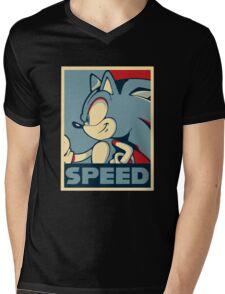 Sonic Speed Mens V-Neck T-Shirt