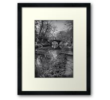 Union Bridge Number 18 - B&W Framed Print
