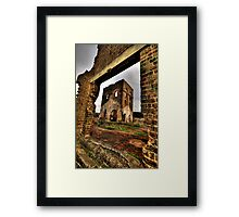 Framed In Time - Blast Furnace Park -, Lithgow NSW Australia - The HDR Experience Framed Print