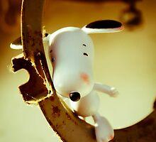 Blushing Snoopy by Iuliana Evdochim