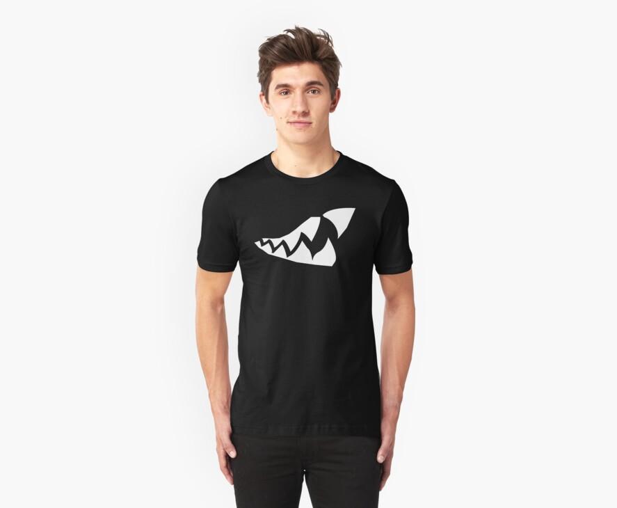 Shark Teeth Design by warbirdwear