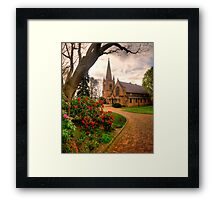 Memory Of A Lost Son - Hoskins Church, Lithgow NSW Australia - The HDR Experience Framed Print