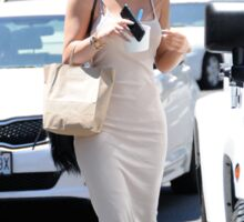 Kylie Jenner and Car Sticker