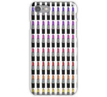 Ombre Lipstick iPhone Case/Skin