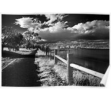 Along the path, Geelong - Australia Poster