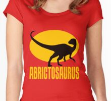 Abrictosaurus Women's Fitted Scoop T-Shirt