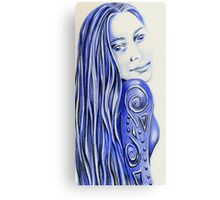 The Tattooed Gown Metal Print