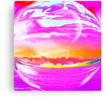 Imagine - Abstract 33-Wall  Art + Products Design  Canvas Print
