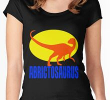 Abrictosaurus-2 Women's Fitted Scoop T-Shirt