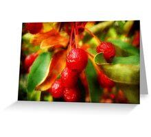 Cherry Berry ©  Greeting Card
