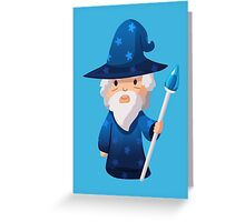 Cute Little Wizard Greeting Card