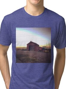Countryside at dusk in Washington State  Tri-blend T-Shirt