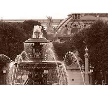 Place de la Concorde Photographic Print