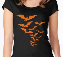 BATS IN THE BELFRY-2 Women's Fitted Scoop T-Shirt