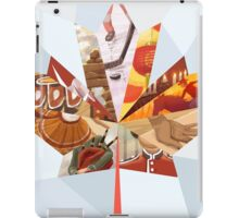 Canadian Mosaic iPad Case/Skin
