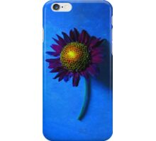 Sunflower with Blue Background iPhone Case/Skin