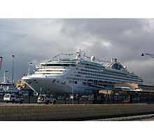 Sun Princess Photographic Print