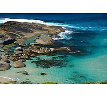 Rock Pools at Lowlands Beach, WA Photographic Print