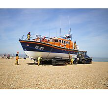 Dungeness Lifeboat Photographic Print