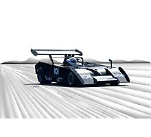 1972 Shadow MKII Can Am Racecar Photographic Print