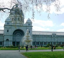 The Royal Exhibition Building Melbourne by Janette Anderson
