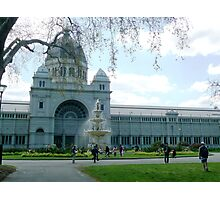 The Royal Exhibition Building Melbourne Photographic Print