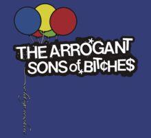 Arrogant Sons of Bitches - So Let's Go Nowhere T-Shirt