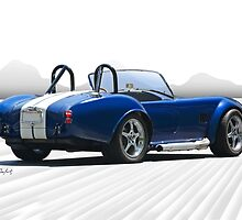1966 Shelby Cobra Replica 'The Road Ahead' by DaveKoontz