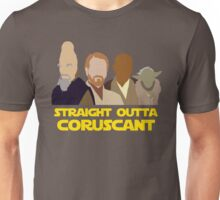 Straight Outta Coruscant Unisex T-Shirt