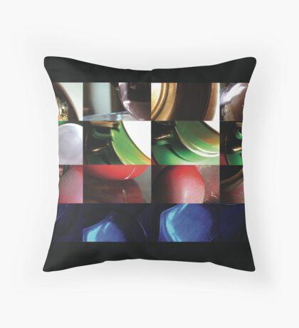 cups Throw Pillow