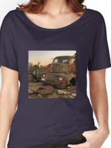 Rusty ol' farm truck  Women's Relaxed Fit T-Shirt