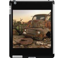 Rusty ol' farm truck  iPad Case/Skin